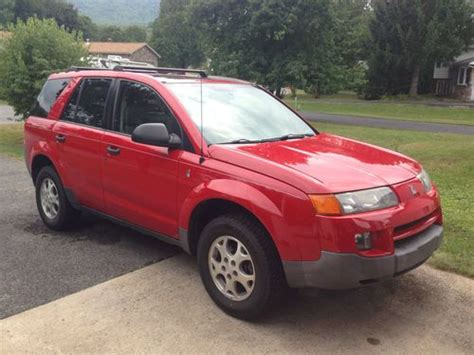 saturn suv 2003 purchase used 2003 saturn vue suv v6 awd clean