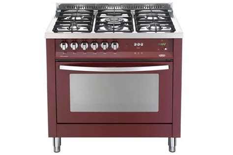 rosso cucine lofra prg96mft c rosso burgundy cucina