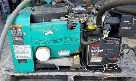 4 8 kw onan emerald plus 5000 genset propane gasoline