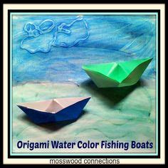 Origami Fishing Boat - learn about great artists on projects