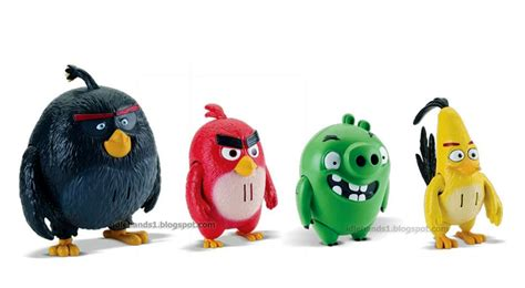 12pc Angry Birds Figure Small Angry Bird Angrybird Burung Kecil idle fair 2016 spin master s angry birds ready