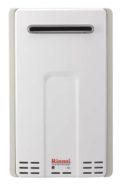 Gas Water Heater Rinnai Reu 55rtb rinnai v65e reu vc2025w us value series exteriorerior tankless water heater max btu 150k max