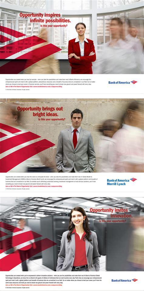 bank of america ad bank of america employer branding on pantone canvas gallery