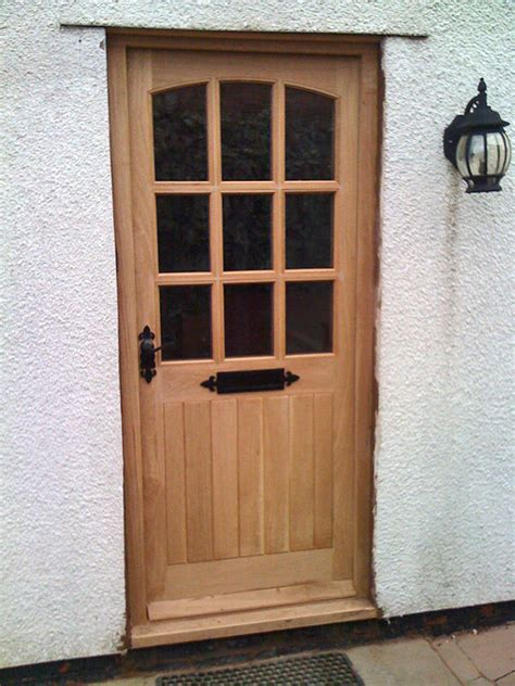 Hardwood Front Door Georgian Style Low Price Made To Hardwood Front Doors Uk