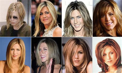 hairstyles through the years jennifer aniston hairstyles through the years 96537 artic