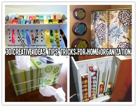 30 Best Creative Ideas For 30 creative ideas tips tricks for home organization how to