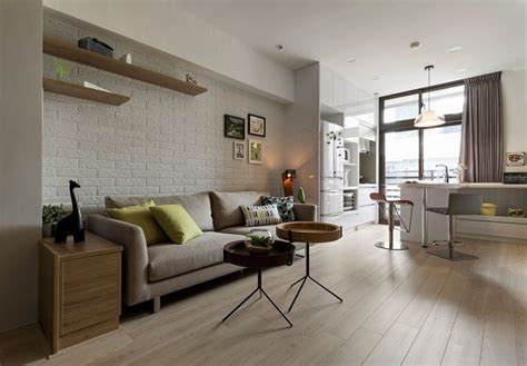 Small Minimalist Living Room by 3 Small Modern Living Room Designs Completed With