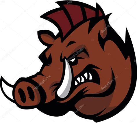 wild boar illustration stock vector 169 funwayillustration