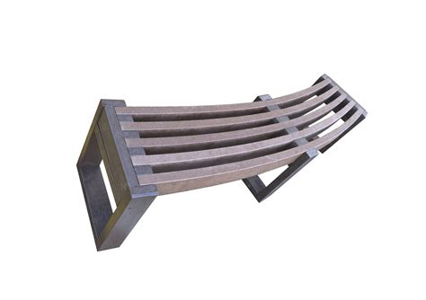 outdoor plastic bench seats eco friendly recycled plastic curved bench outdoor seating