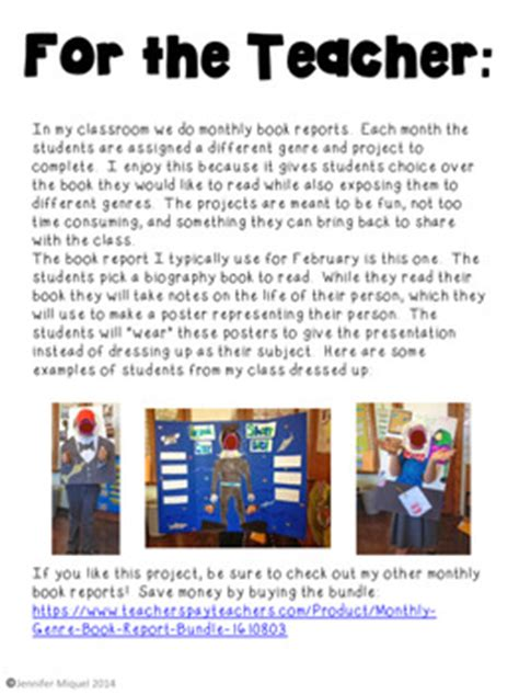 contoh biography poster report biography book report poster by endeavors in education