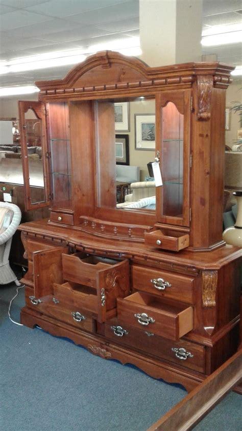 dresser with hutch top mirror pine dresser mirror hutch top delmarva furniture consignment