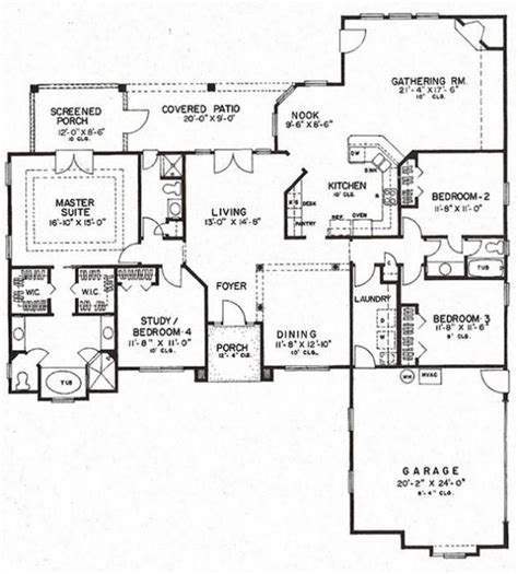 653964 two story 4 bedroom 4 bedroom 3 bath 2 story house plans