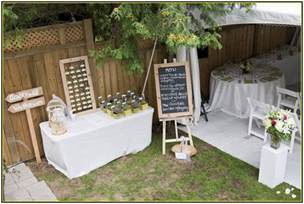 backyard wedding decorations budget inspiring rustic wedding outdoor decor idea that you can