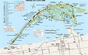 Presque Isle State Park Map by Presque Isle State Park Maplets