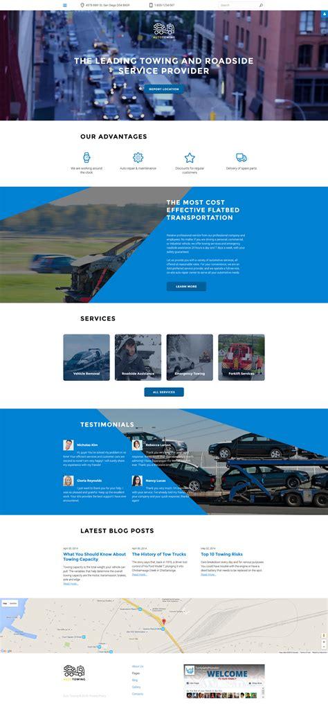 Joomla Design Vorlage joomla vorlage 58172 f 252 r auto abschleppen