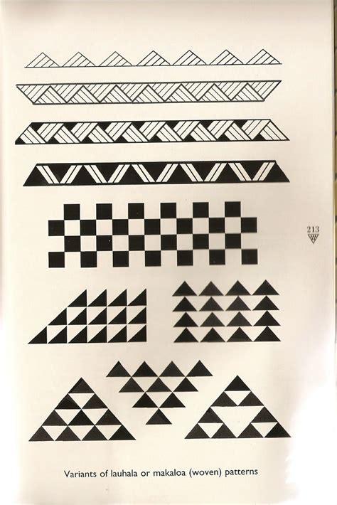 tattoo tribal patterns hawaiian triangle pattern tattoos yahoo image search