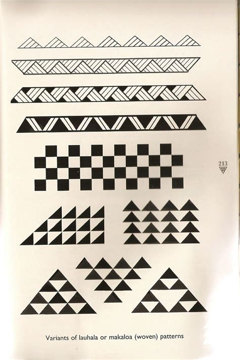 hawaiian tattoo meaning hawaiian triangle pattern tattoos yahoo image search