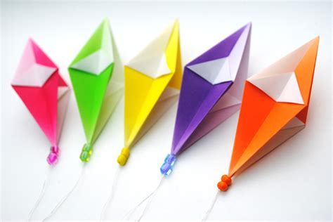 Easy Origami Decorations - origami hanging decorations craft ideas craft