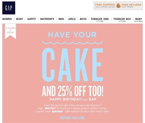 Subject Line Last Chance Get Your Birthday Treat Preheader Hurry You Still Have One Week Last Chance Email Template