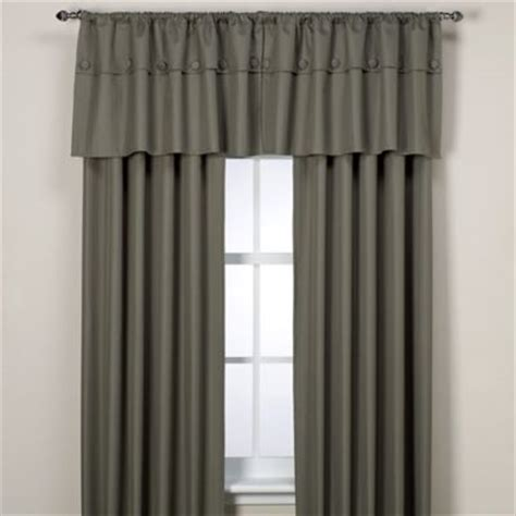bed bath and beyond thermal curtains orlando kid artichoke insulated window valance