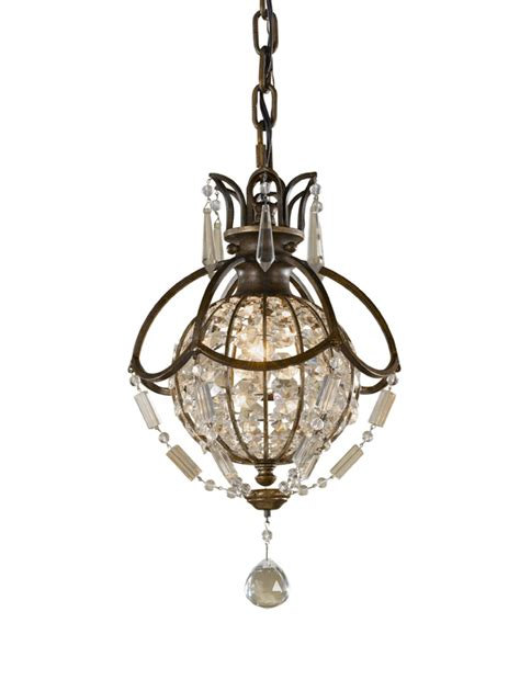 Bronze Chandelier With Crystals Paris Mini Antique Bronze Crystal Ball Chandelier