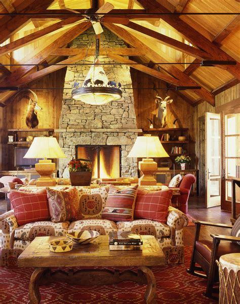 cabin living room decor get cozy a rustic lodge style living room makeover betterdecoratingbiblebetterdecoratingbible