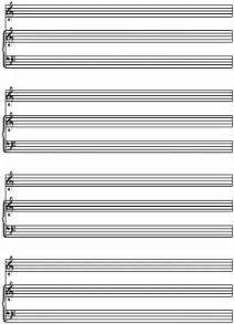 Blank Sheet Piano And Voice by Piano Sheet Elec Intro Website