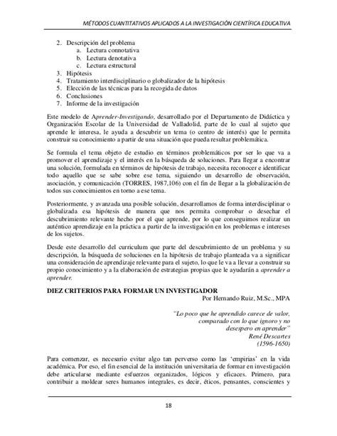 Modelo Curricular Globalizador La Investigacion