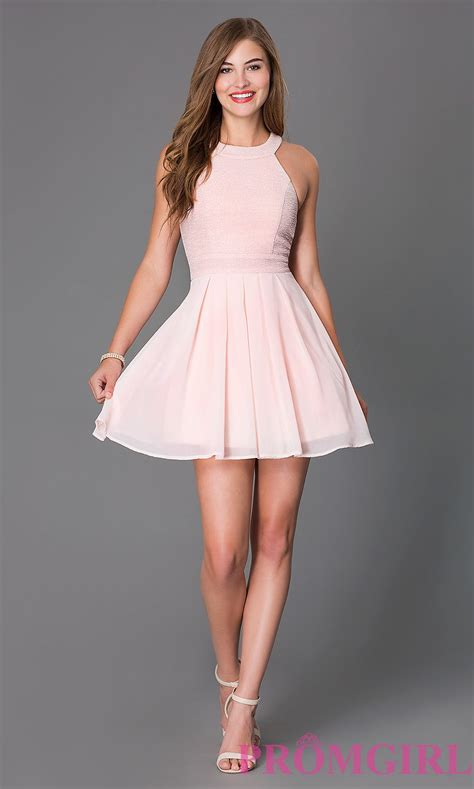 Klething Manggar Pink Dress 7 8th sleeveless fit and flare dress promgirl
