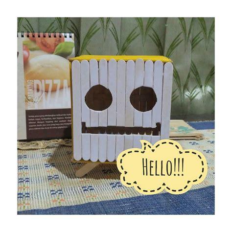 membuat es krim flanel 10 ide model dan cara membuat kotak tisu tempat tisu dari