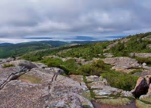 Cadillac Mountain In Maine Cadillac Mountain Maine