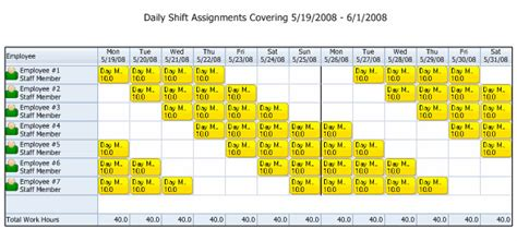 24 7 work schedule template 12 hour nursing shift schedule template templates