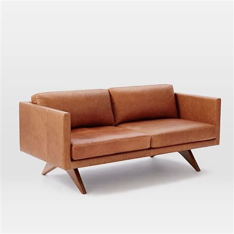 Brooklyn Leather Sofa West Elm
