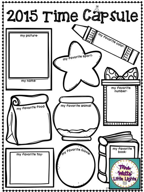 new year activities classroom best 25 time capsule ideas on time
