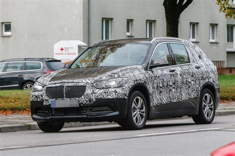 bmw 7 seater cars in india bmw x1 seven seater seen testing car news premium