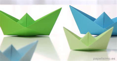 como hacer un barco origami c 243 mo hacer un barco de papel muy f 225 cil papelisimo