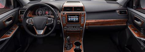 Cars With Wood Interior by Interior Dash Trim Kits For Cars Wood Grain Carbon Fiber