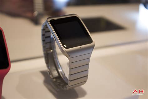 Smartwatch I One on with sony s smartwatch 3 in stainless steel androidheadlines
