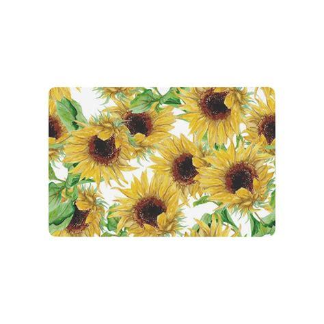 Flower Doormat by Flower Floral Anti Slip Door Mat Home Decor Yellow