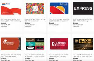 Southwest E Gift Card - ebay save on gift cards from southwest exxon gap darden applebee s more