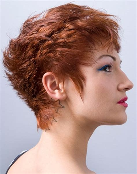 feather back hairstyles short haircuts feathered back short hairstyle 2013