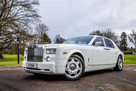 roll royce london white rolls royce phantom wedding car hire in london