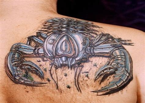 tattoos for men 3d awesome 3d tattoos for amazing 3d scorpion