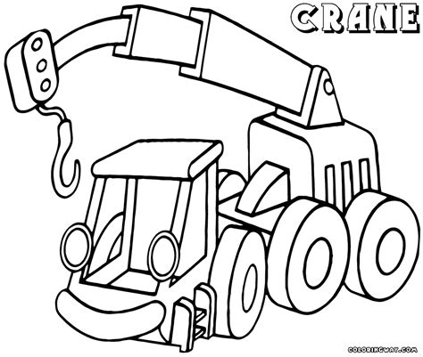 coloring page crane truck crane coloring pages coloring pages to download and print
