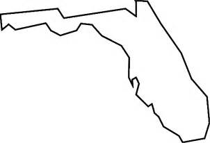 florida state map outline florida map clipart clipart suggest