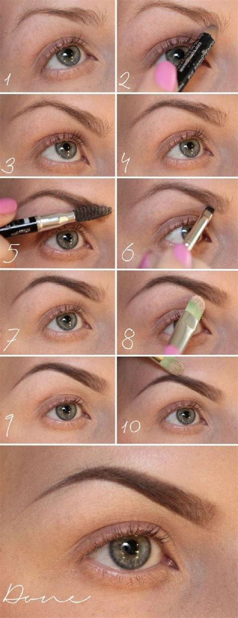7 Tips For Perfectly Groomed Eyebrows by Top 10 Tips For Make Up Eyebrows 10 Top And Eye