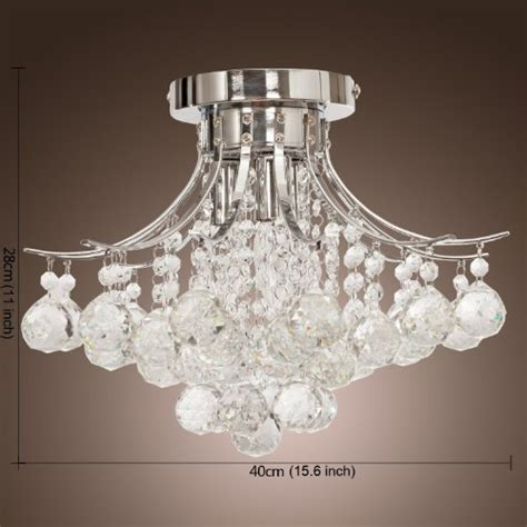 alfred 174 chrome finish crystal chandelier with 3 lights