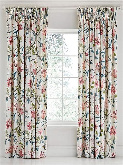 120 x 90 curtains sanderson clementine lined curtains 90 x 90 duck egg
