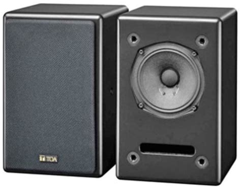 Speaker Salon Toa toa me 120 studio monitor speaker range loudspeakers studio monitor me120 toa