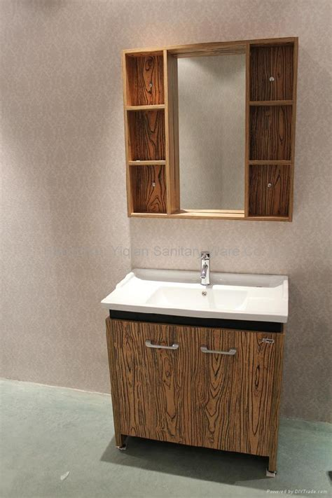 free standing modern melamine bathroom cabinet m001 yq